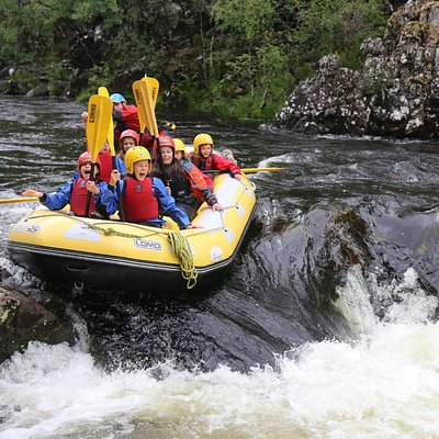 White Water Rafting on the River Garry
