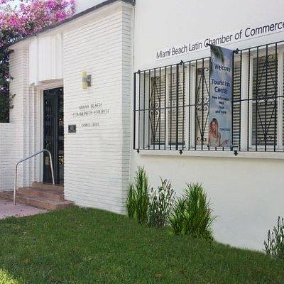 Entrance of Visitor Center- Miami Beach Latin Chamber