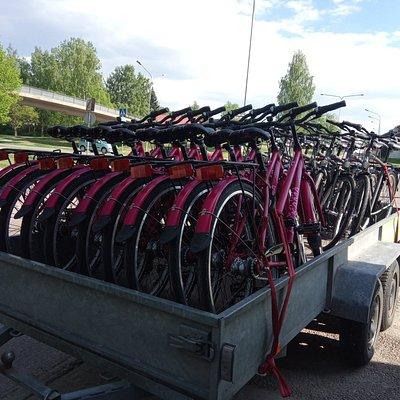 New bikes: Helkama T7:s