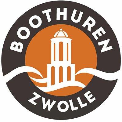 U herkent onze bootjes aan het logo van boothurenzwolle.nl!