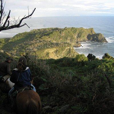 Cabalgata Parque Nacional Chiloé, Cole Cole