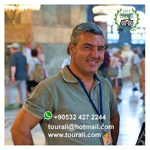 Private Tour Guide Ali YALNIZ