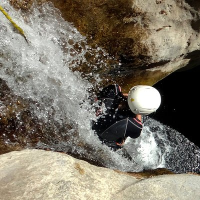 Canyoning in Crete / PowerSlide :-)