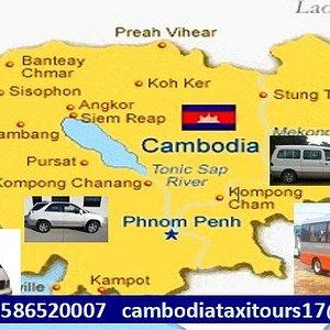 cambodia private taxi driver service