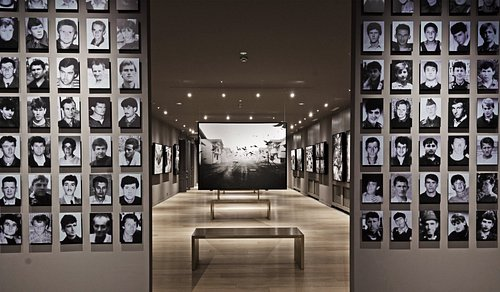 Gallery 11/07/95 memorial place dedicated to the victims of genocide in Srebrenica.
