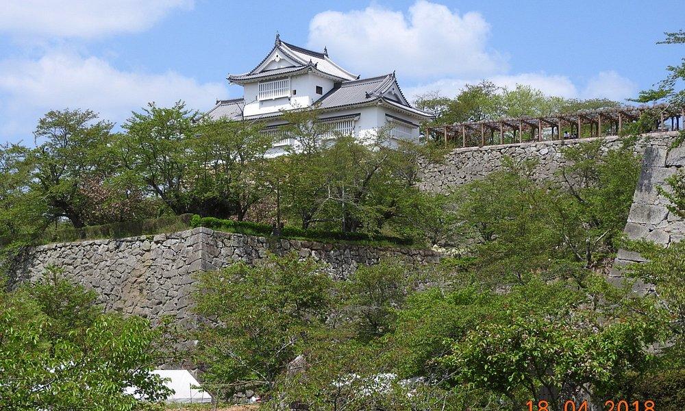 stone wall (Ishigaki )of the castle