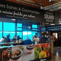 Restaurant Les Halles Solanid à Odysseum