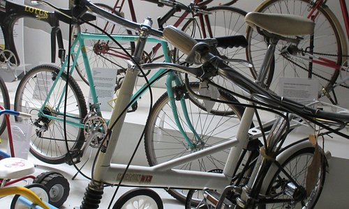 A tiny selection of the historic and sentimental bicycles in our collection