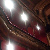Intérieur du théâtre à l'italienne