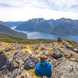 Rewarding views from the Kepler Track, catch our Kepler Water Taxi to access this stunning track