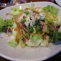 """Premium"" Blue Cheese Pecan Chopped Side Salad"