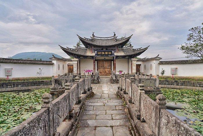 Wenchang Palace - Main Entrance from inside