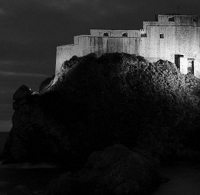 St. Lawrence fort by night