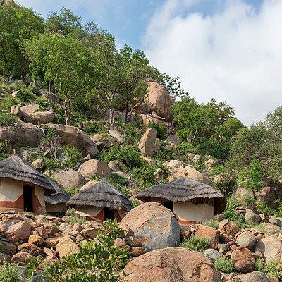 Living huts - renovated
