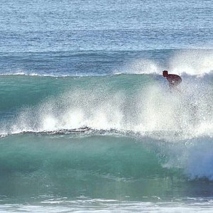 End of the day surfing at home :)