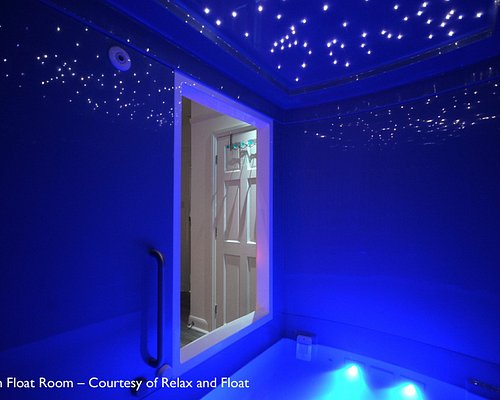 Our Ocean Float Rooms offer space, privacy, and comfort.