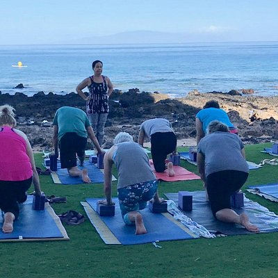 7-8am Beach Yoga in paradise. We provide mats and props. An experience to be remembered.