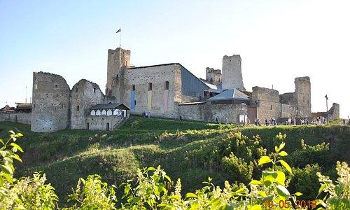 Средневековый замок Раквере.