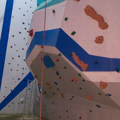 Bouldering section