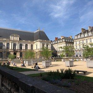 jardin du parlement