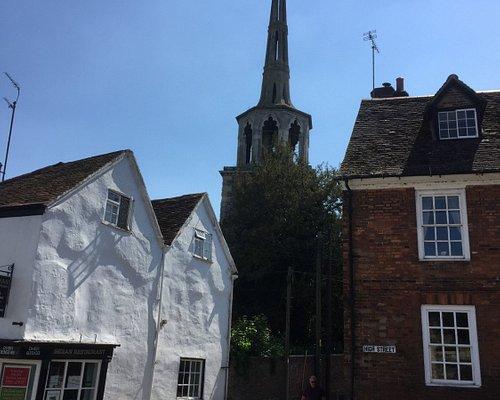 Steeple of St Peter's Wallingford.