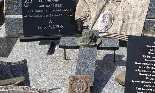 Louis Mazon's Grave