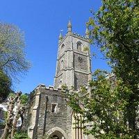 Fowey Parish Church - St Fimbarrus