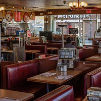 Old style diner with fine food