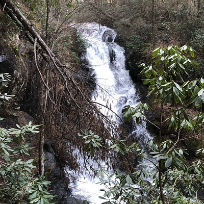 View of Little Rock Creek Falls