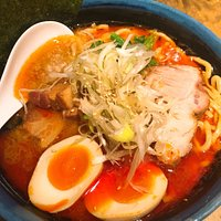Very yummy this spicy ramen