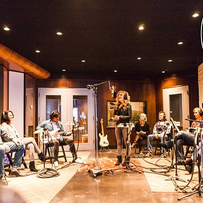 Enter the recording studio's inner sanctum at Imagine Recordings on Nashville's Music Row.