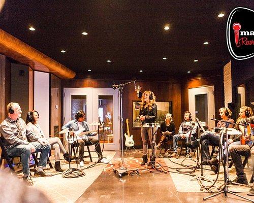 Enter the recording studio's inner sanctum at Imagine Recordings on Nashville's Music Row.