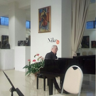 "Репетиция концерта в ""Нико галерее""."