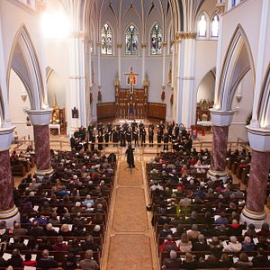 Christmas Reprise at Holy Rosary Cathedral, downtown Vancouver credit: Jesse Read