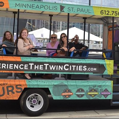 Experience the only open-air bus in Minnesota!