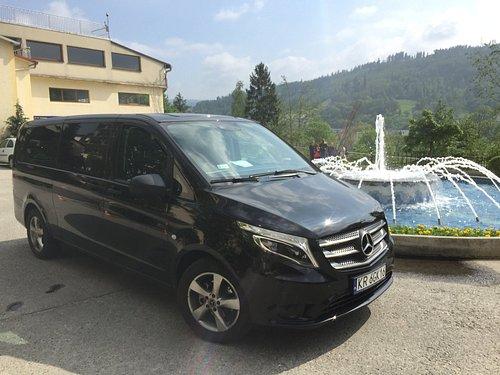New Mercedes Van