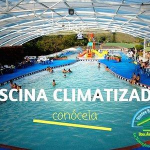 ven y conoce nuestra piscina techada con agua climatizada(únicamente los fines de semana y festi