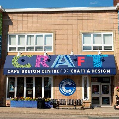 Street view of Cape Breton Centre for Craft & Design