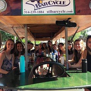 St. Louis Barcycle pedal pub tours
