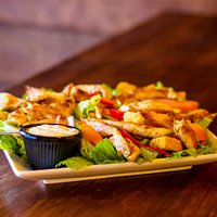 Healthy Food. Ensalada de Pollo Club.
