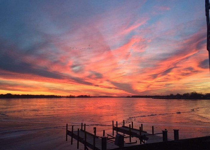 Sunset at Buckeye Lake