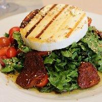 manouri cheese salad