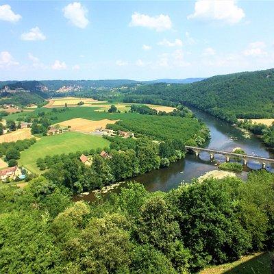 Una de las hermosas vistas desde el castillo
