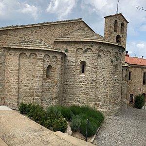 Santa Cecilia de Montserrat and Sean Scully Art Space