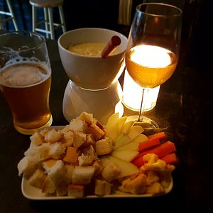 Lovely pop up tonight with cheese fondue!
