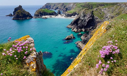 Typical Cornwall coastal scene - this one taken on The Lizard Peninsula in May