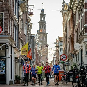 Explore Amsterdam from a runner's point of view