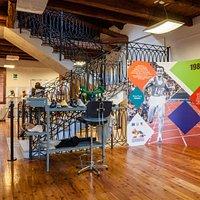 Sala dedicata alle innovazioni degli anni '80 ed alle imprese di Pietro Mennea e Salvatore Betti