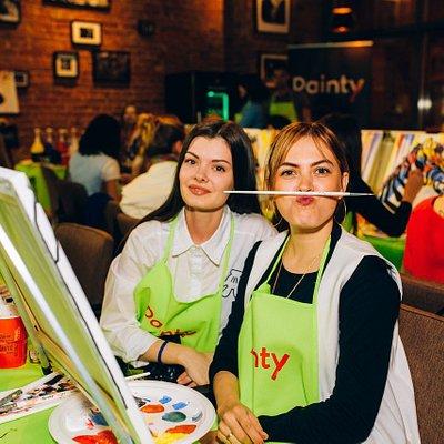 Painty — это расслабленный вечер в ресторане, а не мастер-класс