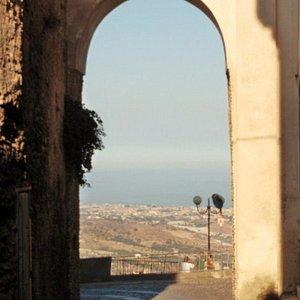 la porta verso il panorama